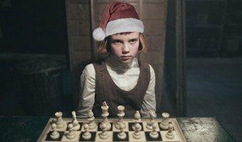 queen's gambit prodigy santa
